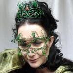 May queen masquerade mask, handmade